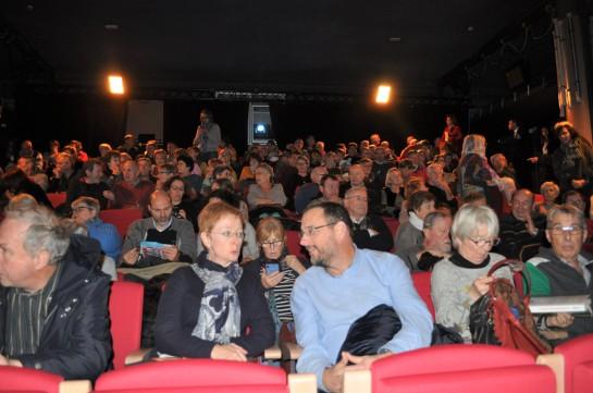 La salle de cinéma du casino d'Arras était comble